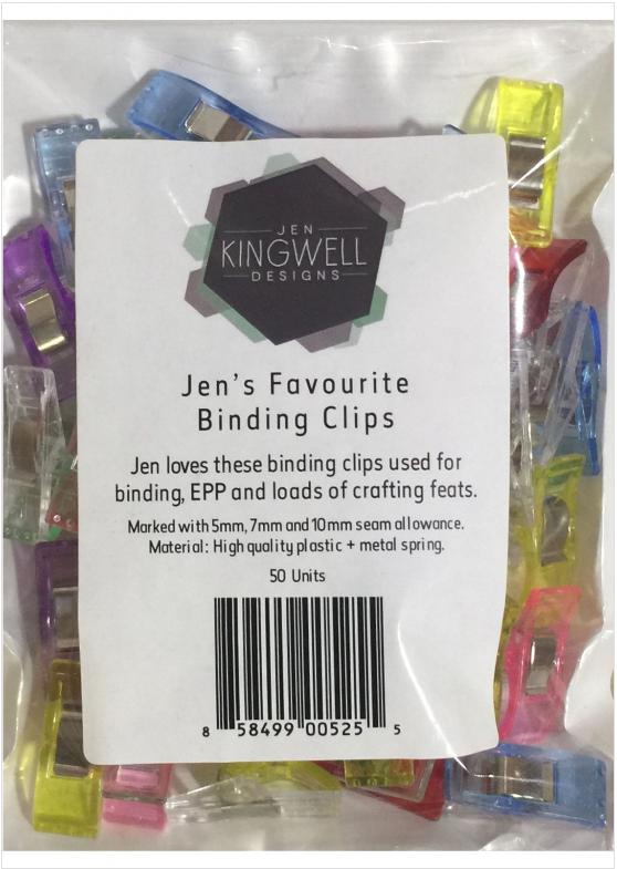 Jen Kingwell Binding Clip