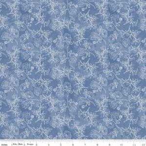 C8654 Blue Rose Stems