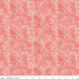 C8654 Coral Rose Stems