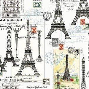 C8842 Eiffel Tower Cream