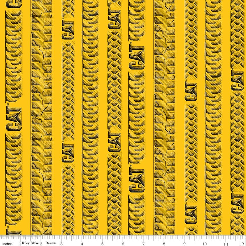 C9103 CAT Tracks Yellow