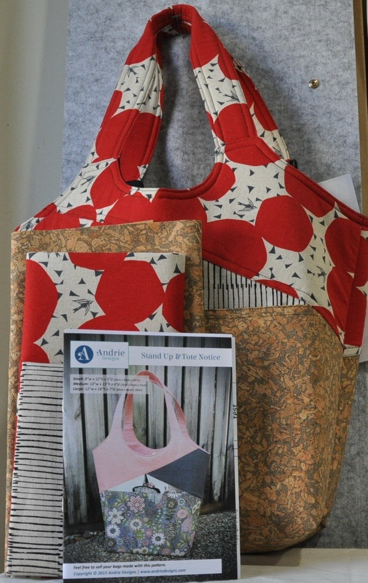Stand Up and Tote Notice Bag Kit
