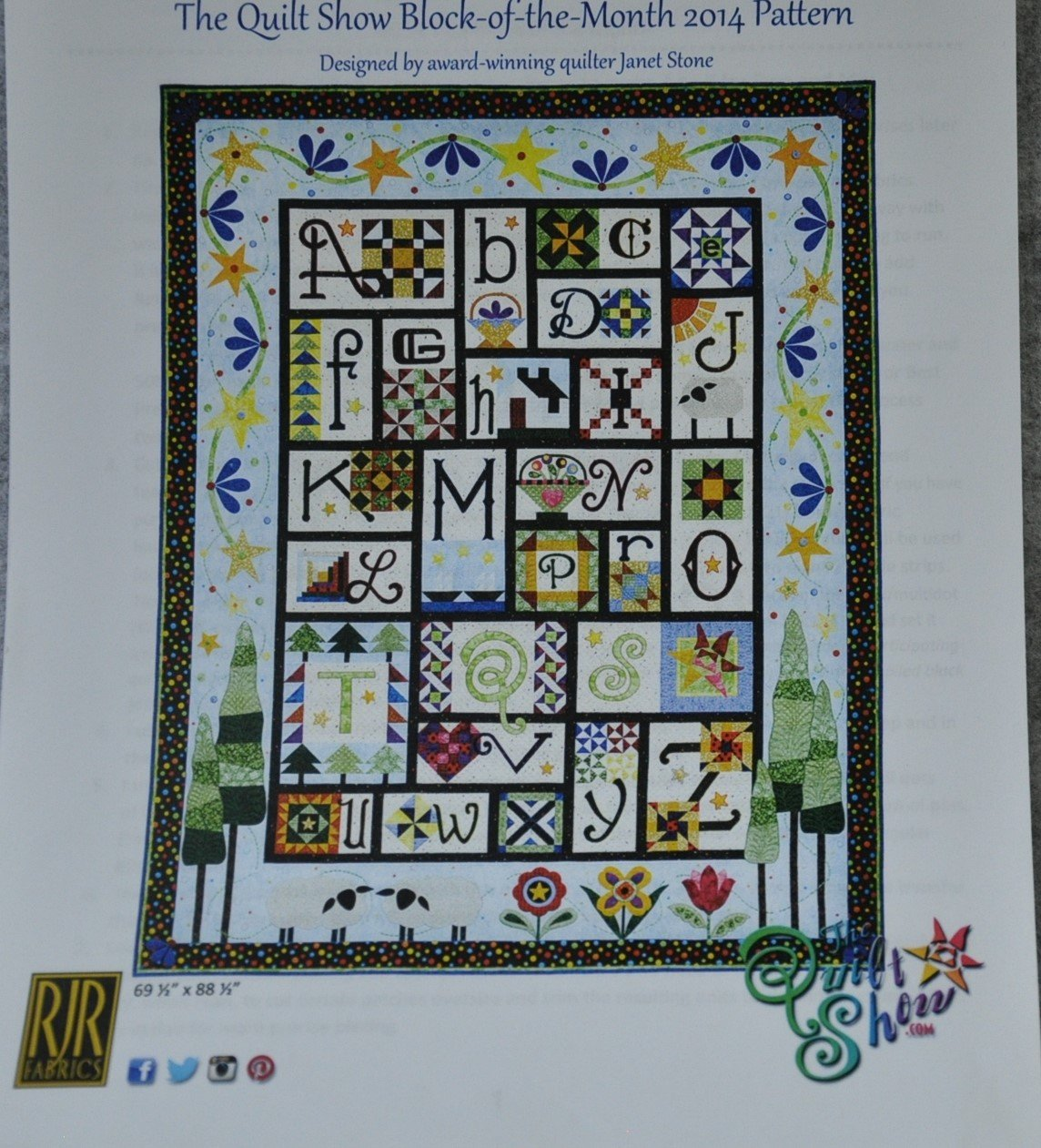 Ewe and Me A to Z Block