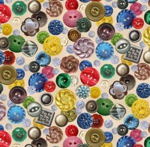 ES568 Cream Buttons