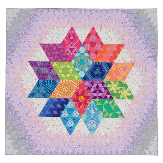 Nebula by Tula Pink and Jaybird Quilts.