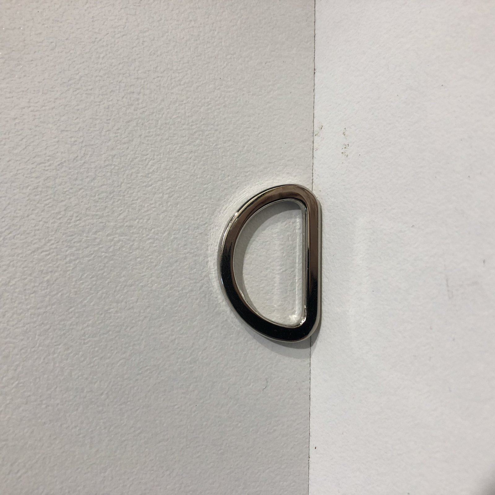 Silver 1.25 D Ring