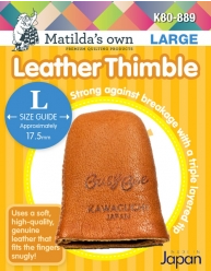 Matilda's Own Leather Thimble