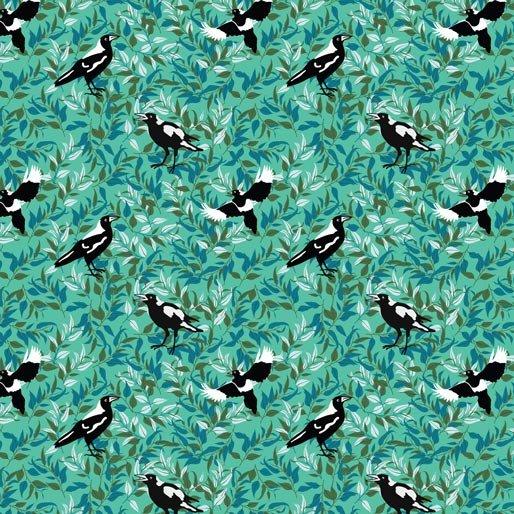 Magpie Magic Green