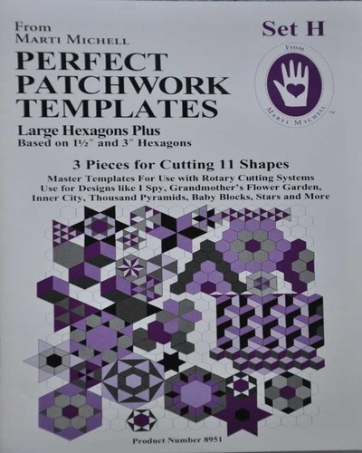 MM Set H Perfect Patchwork Templates