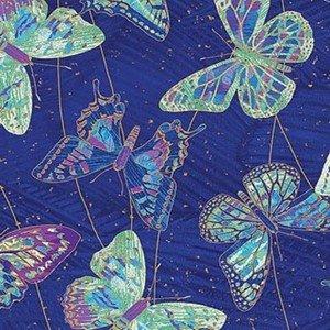 22957M 048 Cobalt Butterflies