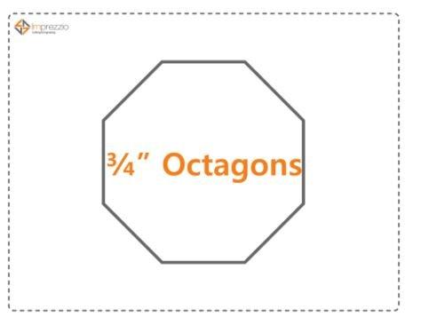 3/4 Inch Octagon