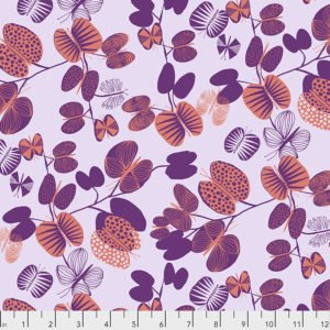 BH008 Coral Butterfly Leaves