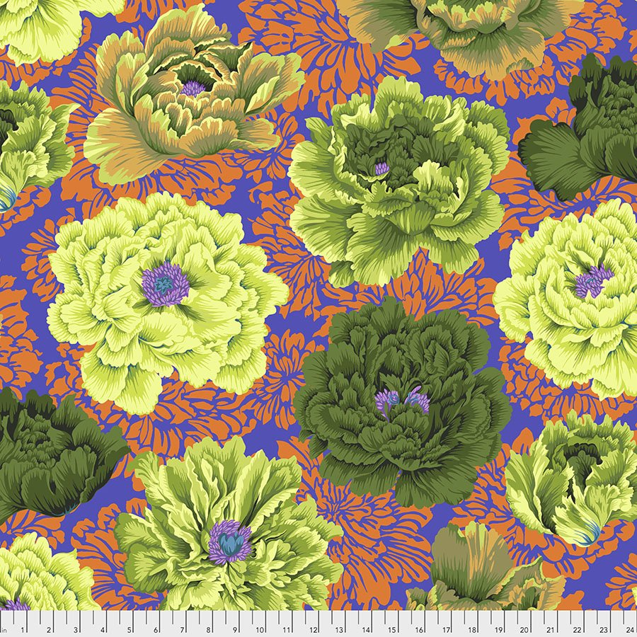 PJ062 Moss Brocade Peony
