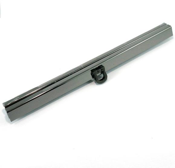 Wallet Closure 19cm Gunmetal
