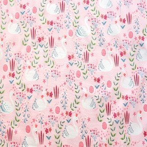 6888 Pink Dainty Swans