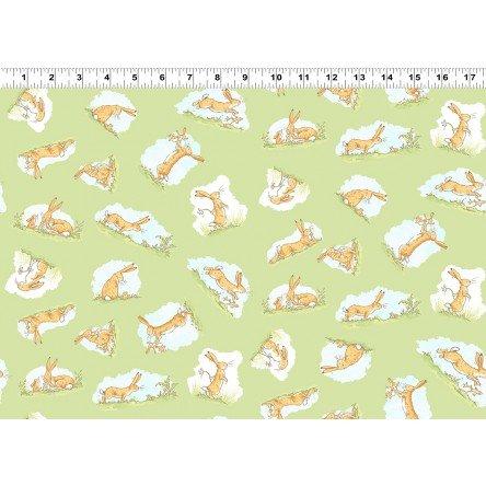 2872 23 Green Rabbits