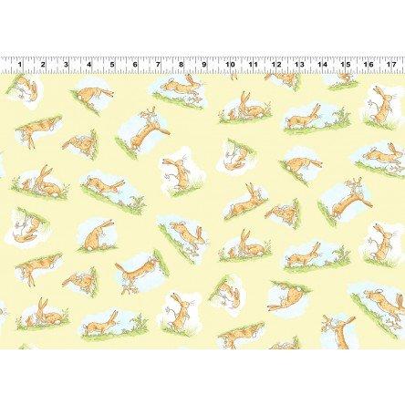 2872 59 Yellow Rabbits