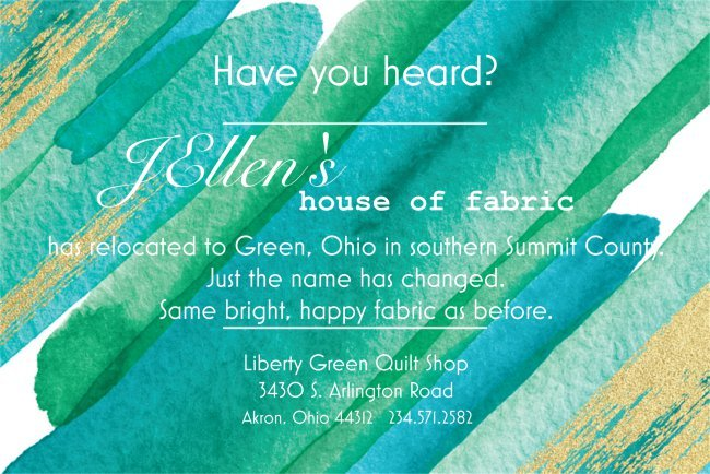 Home Liberty Green Quilt Shop Akron Oh 44312