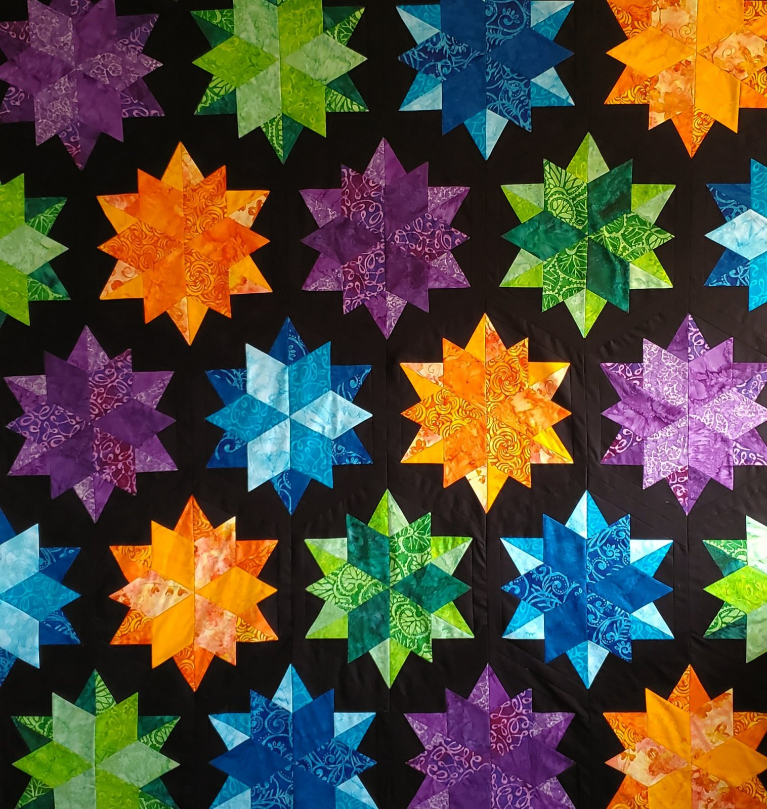 Night Sky Quilt Kit