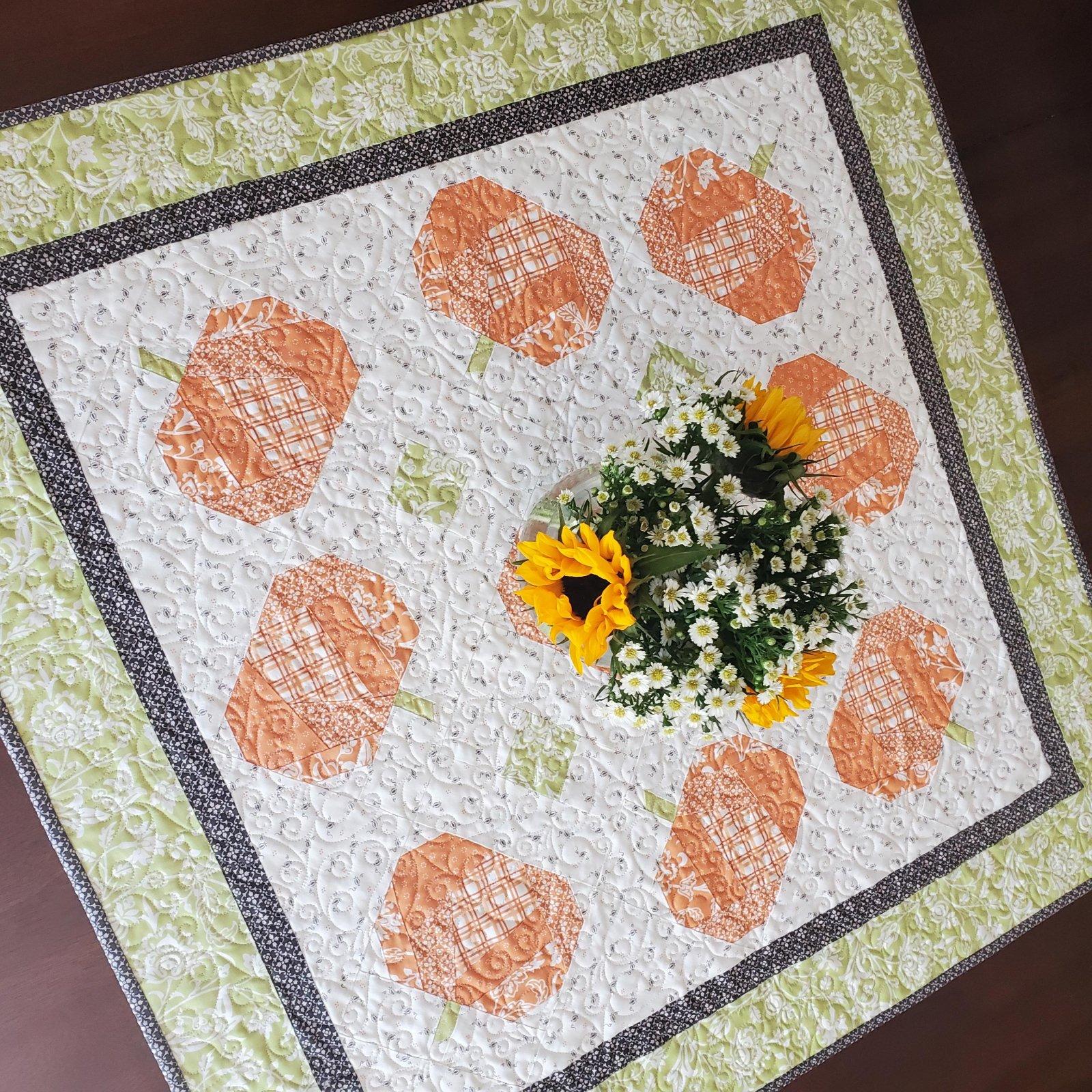Tossed Pumpkins Pattern