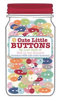 Cute Little Buttons Jar #1