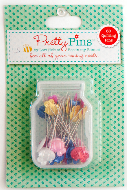 Pretty Pins by Lori Holt - Quilting Pins