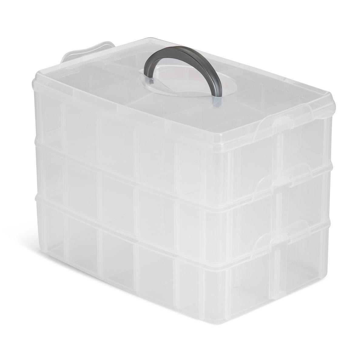 Plastic Carrying Case Organizer