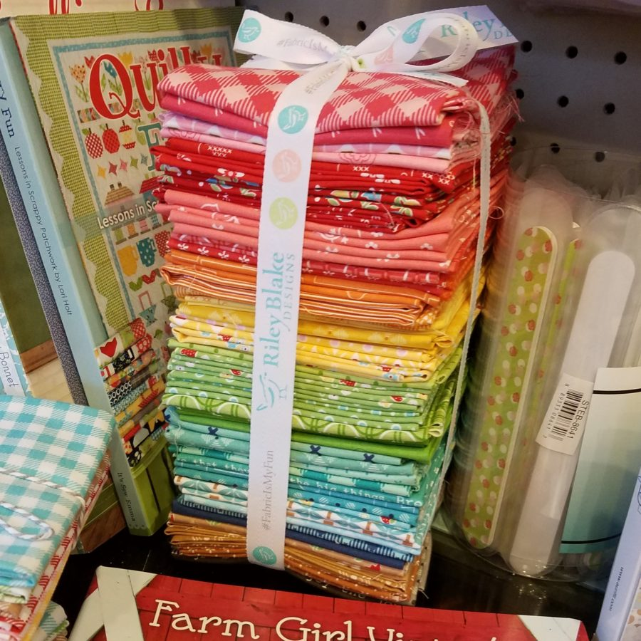 Fat Quarter Farm Girl Sampler Stack - 50 Piece