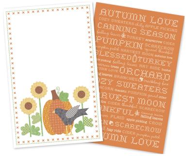 Autumn Love Tea Towels