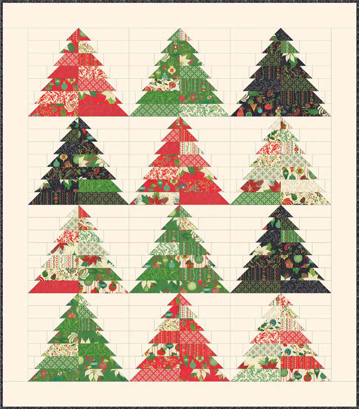 Tole Christmas Quilt Pattern