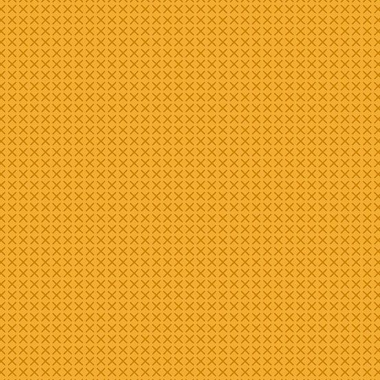 Cross Stitch Mustard by Alison Glass