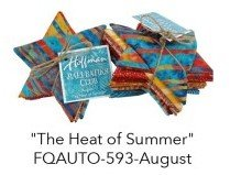 Bali Fat Quarter Bundle August