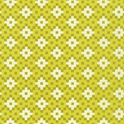 Paintbox Wasabi Geometric by Elizabeth Hartman
