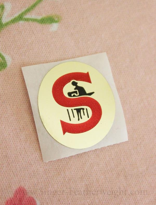 Featherweight Badge for White FW 221K  - Adhesive