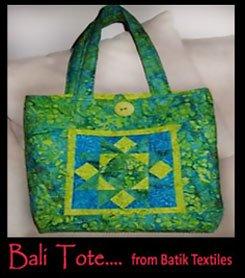 Bali Tote Kit, Raspberry