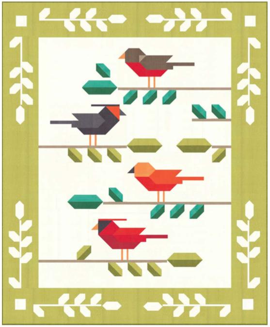Bird Talk Quilt Kit