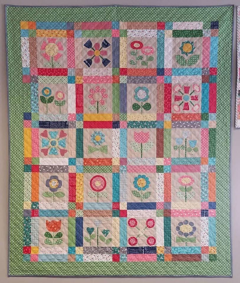 Bloom Quilt - Shop Sample