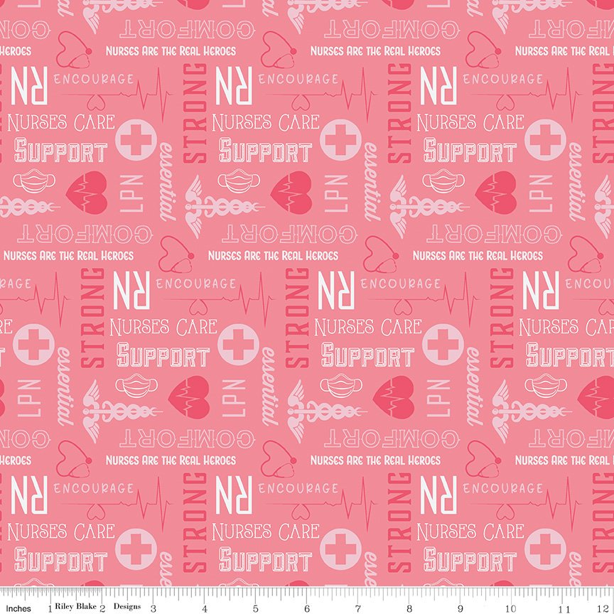 Nobody Fights Alone Nurses Care Pink