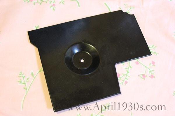 Featherweight 221 Drip Pan Metal Tray Vintage Original