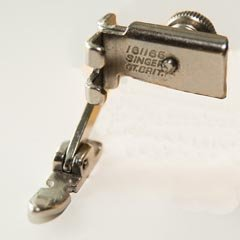 Adjustable Zipper Foot - Slant Shank - Vintage