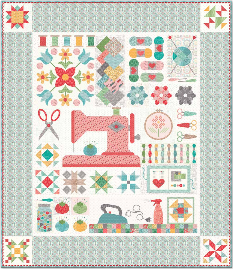 My Happy Place Quilt Kit PRE-ORDER