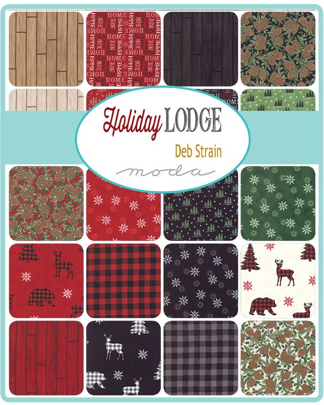 Holiday Lodge 5 Yard Bundle