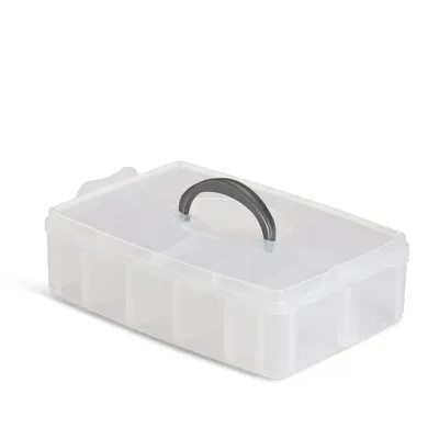 Thread Storage Case Single Layer with Lid