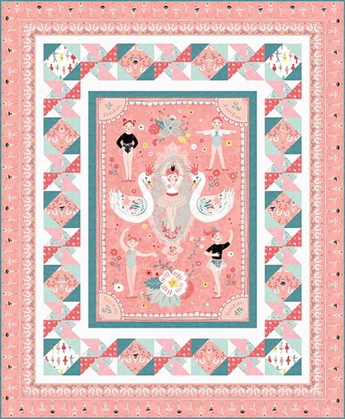 Bella Ballerina Quilt Kit