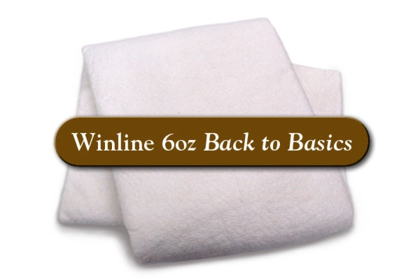 Winline Cotton Batting 6OZ - Queen