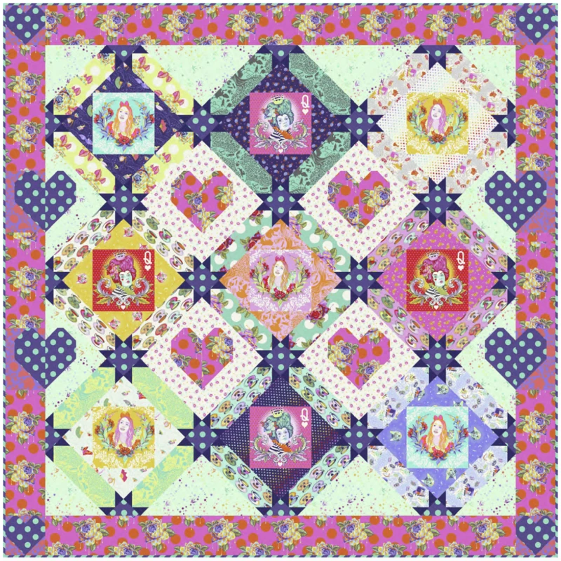 Queen of Hearts Quilt Kit PRE-ORDER