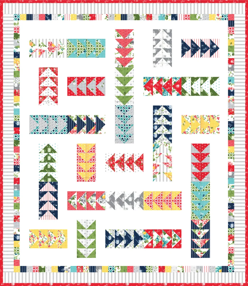 Follow Me Quilt Kit