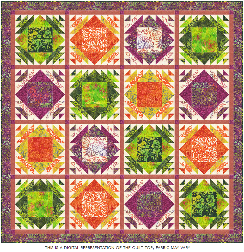 Tropic of Capricorn Quilt Kit