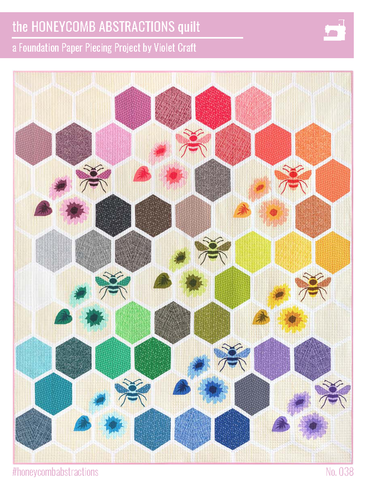 Honeycomb Abstractions Quilt Kit