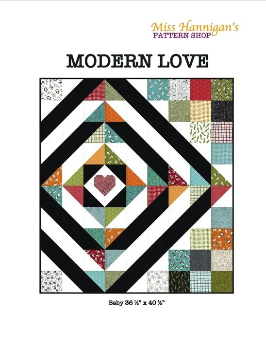 Modern Love Quilt Pattern